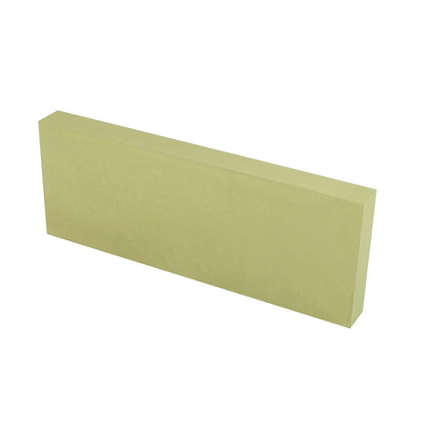 160mm x 60mm x 15mm - 600 grit - GREEN - USA - Jointing Stone