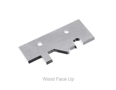 HD MP 60mm Wide - Carbide Knife - Tongue and Groove Flooring with MicroBevel - Face Up