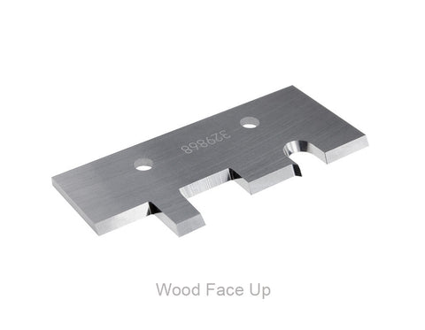 HD MP 60mm Wide - Carbide Knife - Tongue and Groove Flooring - Face Up
