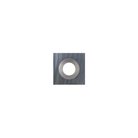 Square Carbide Insert - 10.5 x 10.5 x 1.5 mm - 35 bevel - Woodturning Cutter Top