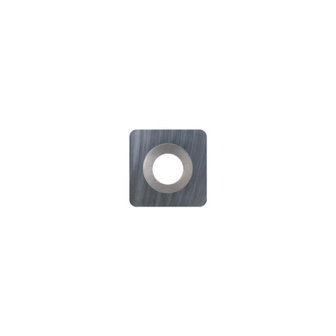 Square Carbide Insert - 10.5 x 10.5 x 1.5 mm - 0.5 mm radius corner - Woodturning Cutter Top