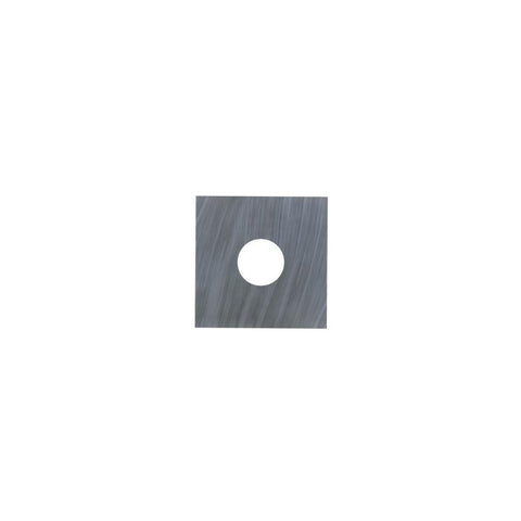 Square Carbide Insert - 12 x 12 x 1.5 mm - No Countersink - Woodturning Cutter Top