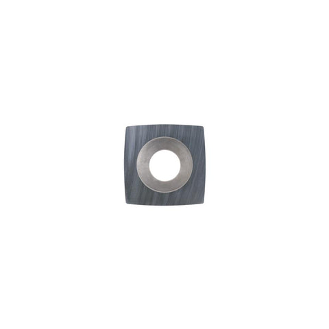 Square Carbide Insert - 11 x 11 x 2 mm - 50 mm radius face - Woodturning Cutter Top