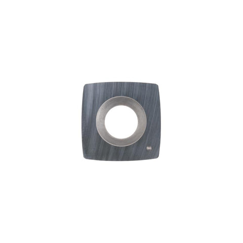 Square Carbide Insert - 15 x 15 x 2.5 mm - 50 mm radius face - Woodturning Cutter Top