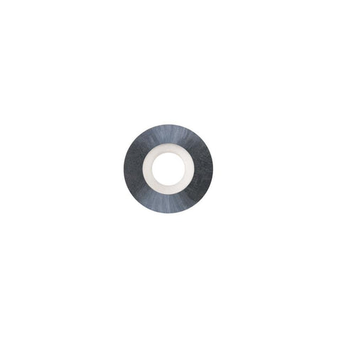 Round Carbide Insert - 12 mm diameter x 2.5 mm - Woodturning Cutter Top