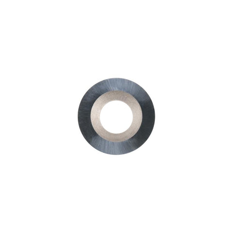 Round Carbide Insert - 15 mm diameter x 2.5 mm - Woodturning Cutter Top