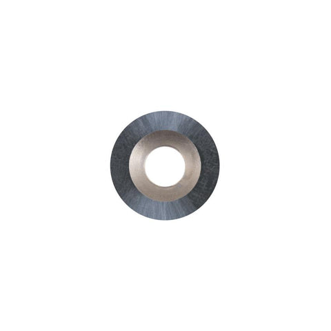 Round Carbide Insert - 14.8 mm diameter x 3.2 mm - Woodturning Cutter Top