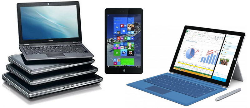All Laptops, Tablets, Hybrids & 2-in-1s