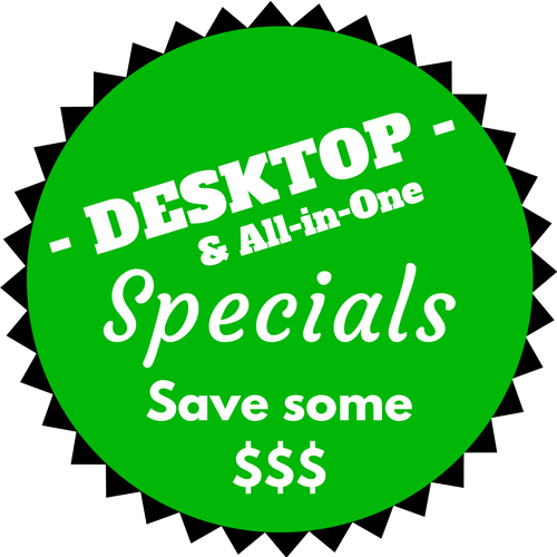 Desktop & All-in-One Specials