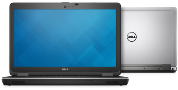 Dell Latitude E6540 front and back