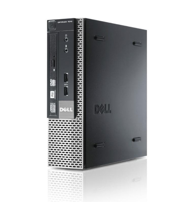 Dell Optiplex refurbished 7010 USFF front right ports