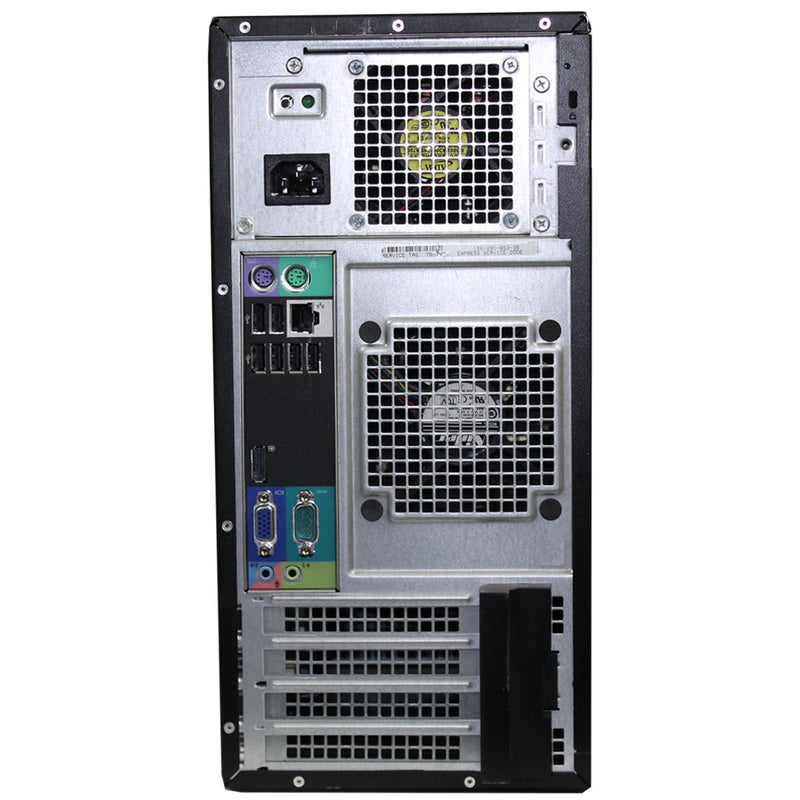 Dell Optiplex 990 Back side ports desktop