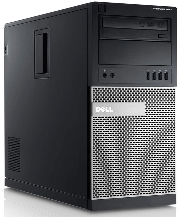 Dell Optiplex 990 Front Left side ports desktop