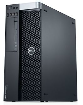 Dell Precision T3600 Desktop Computer front right
