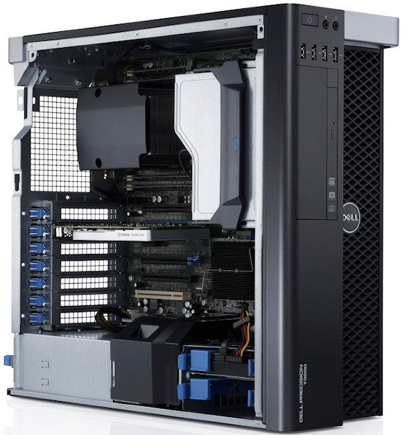Dell Precision T3600 Mini Tower Inside Internal Ports