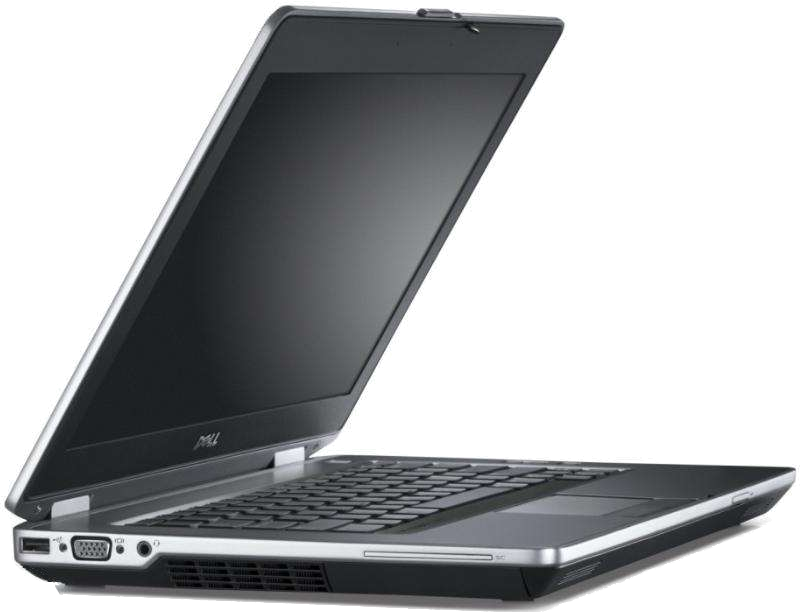 Dell Latitude E6430 front left angle ports