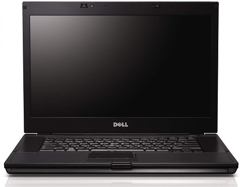 Dell Latitude E6510 Laptop front view