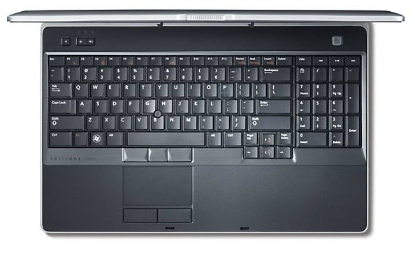 Dell Latitude E6530 Laptop keyboard top view