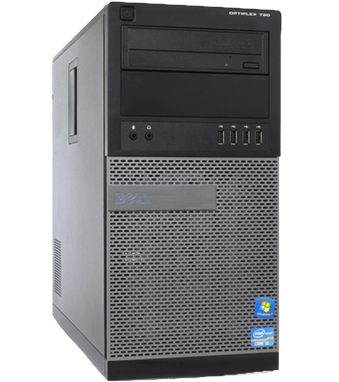 Dell Optiplex 790 Mini Tower computer front left