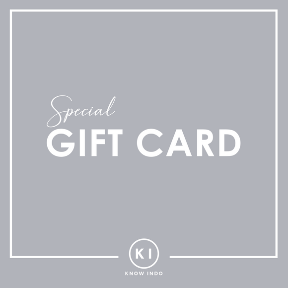 GiftCard - KNOW INDO
