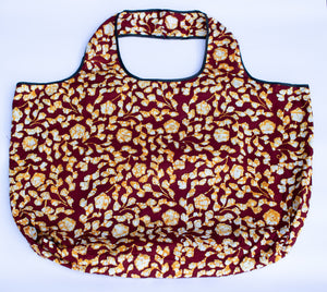 Tote: Red & Gold - KNOW INDO