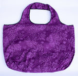 Tote: Purple Flowers - KNOW INDO