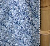 Blanket: Simple Blue White Floral - KNOW INDO
