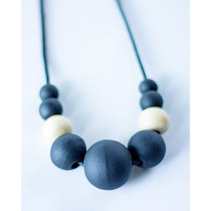 Necklace: Black Sand - KNOW INDO