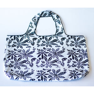 Tote Bag: White - KNOW INDO