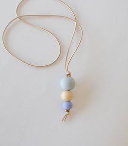 Necklace: Nora's Village- Purple - KNOW INDO