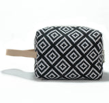 Make Up Bag: Black & White - KNOW INDO