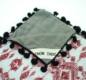 Blanket: Red & Black - KNOW INDO