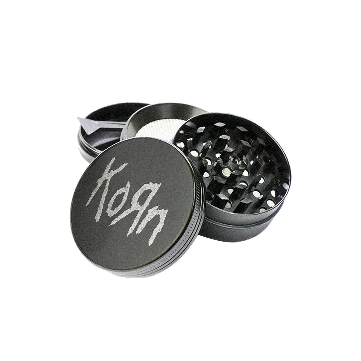 Korn Official Limited Edition Steel Grinder, Exclusive to kornlimited.com, Official Limited Edition, Official Merch, Official Store, Official Shop, Hoodie, Official Merchandise, T-shirt, Hoodie, Jacket, Shirts, Blind Jersey, Shirt, killermerch.com, Killer Merch