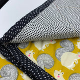 YOUNG FAM SQUIRREL QUILT - COTTON