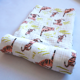 YOUNG FAM MR. MEOW SWADDLE - ORGANIC COTTON