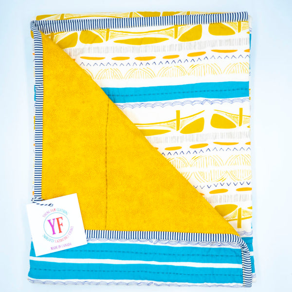 YOUNG FAM BROOKLYN BRIDGE QUILT - COTTON