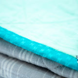 YOUNG FAM MINTY QUILT - BRUSHED FLANNEL