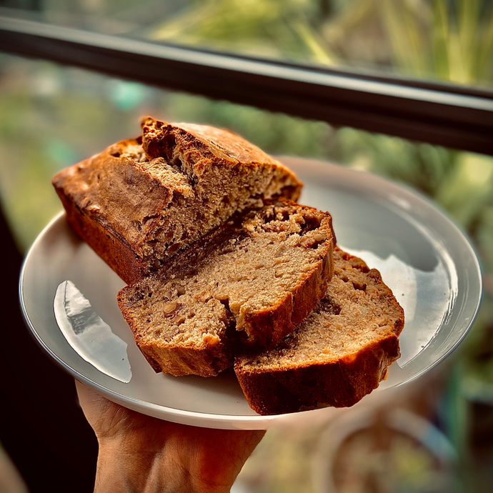 Iso got you baking? Why not try our healthy banana bread recipe?