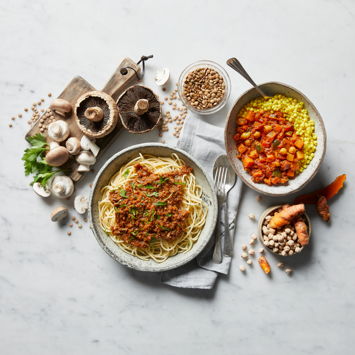 Try Dineamic's free 7-day vegan meal plan