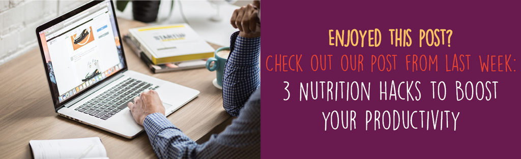 Dineamic Blog | 3 Nutrition Hacks to Boost your Productivity