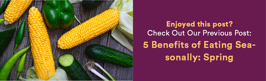 Dineamic Blog | 5 Benefits of Eating Seasonally: Spring