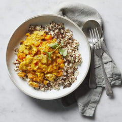 Low FODMAP Butter Chicken With Wild Rice Blend