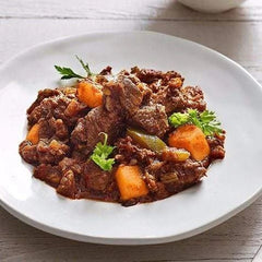 Low FODMAP Moroccan Beef with Sweet Potato