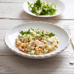 Low FODMAP Chicken & Vegetable Risotto