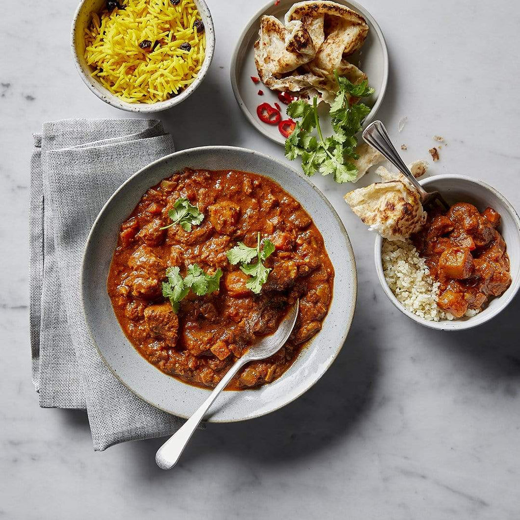 Dineamic Mains Pork Vindaloo Curry