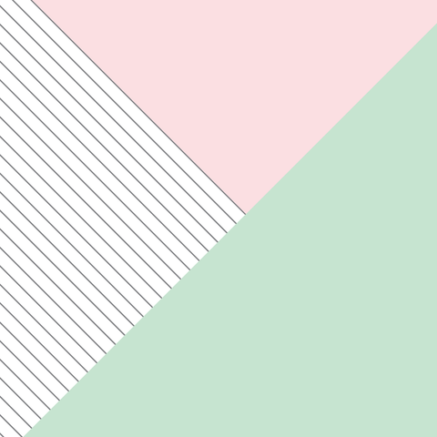 Pink & Green Color Block