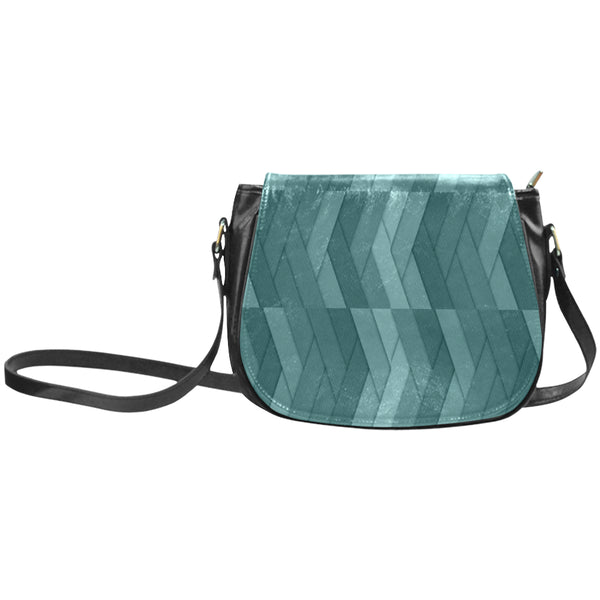 geometric-21613315599 Classic Saddle Bag/Large (Model 1648)