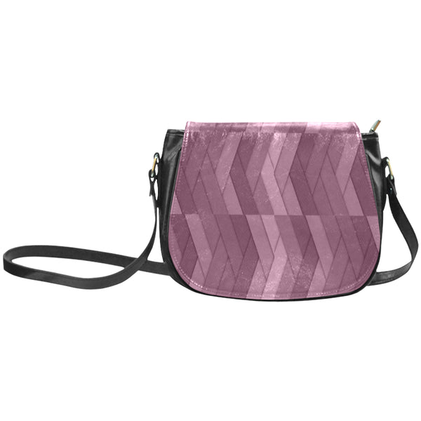 geometric-216133155 Classic Saddle Bag/Large (Model 1648)