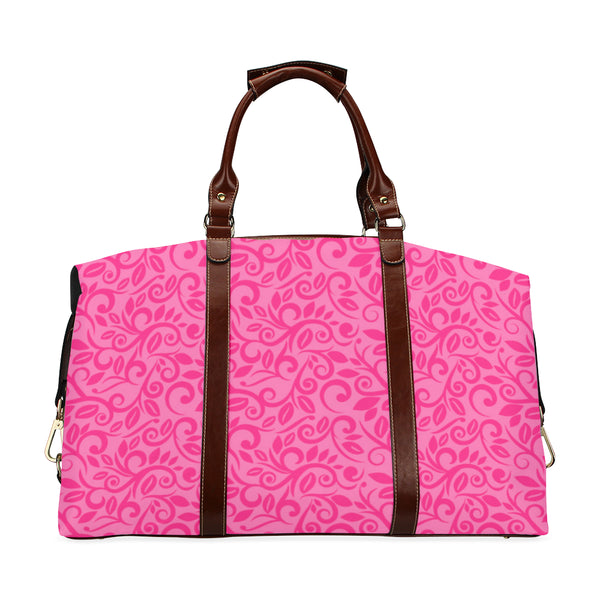 Super Pink Vines Traveller Bag Classic Travel Bag (Model 1643) Remake