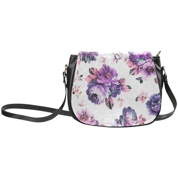 Summerish PurpleClassic Saddle Bag/Large (Model 1648)